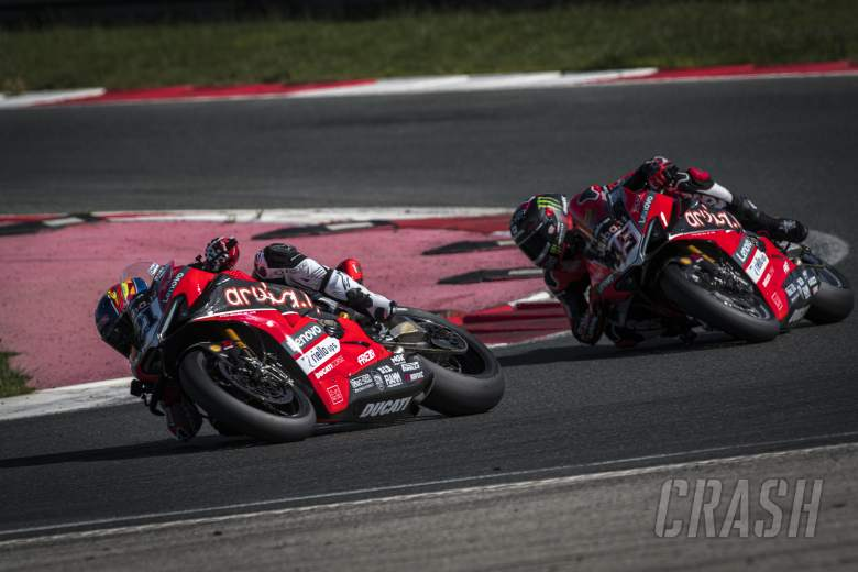 Redding and Rinaldi get first taste of Navarra circuit