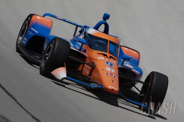 Scott Dixon meraih kemenangan Genesys 300 setelah Felix Rosenqvist jatuh