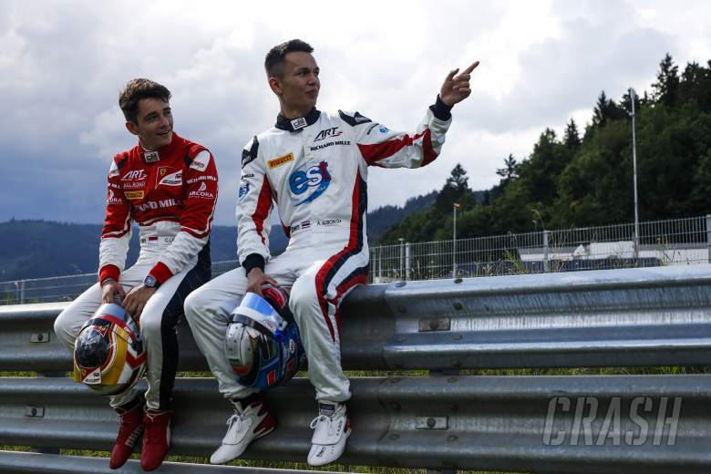 Leclerc hopes Albon gets F1 seat with Toro Rosso