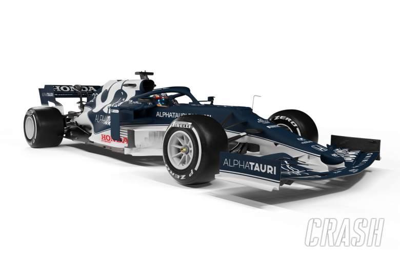 AlphaTauri meluncurkan mobil F1 AT02 menjelang musim 2021