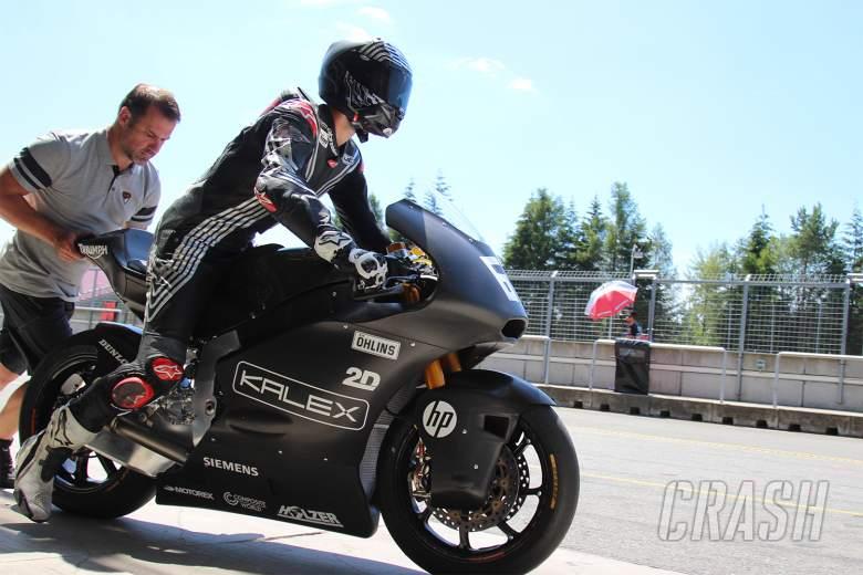 Jonas Folger back on track with Kalex-Triumph