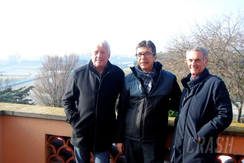 Charlie Whiting, Franco Uncini, Circuit de Catalunya,