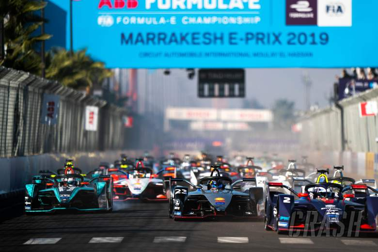 Formula E Marrakesh E-Prix - Race Results