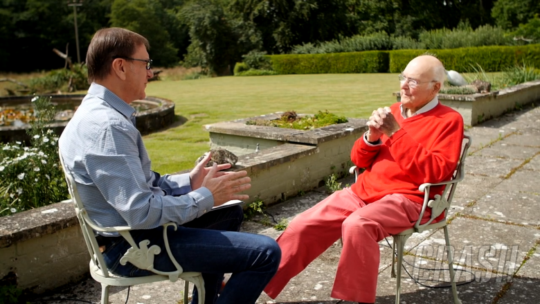Keith Huewen and the late Murray Walker remember John Surtees (Interview 2017)