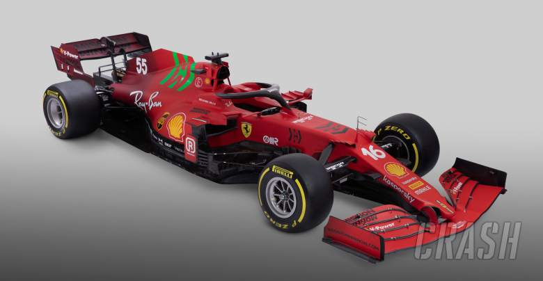 Ferrari reveal SF21 F1 car with revised livery for 2021