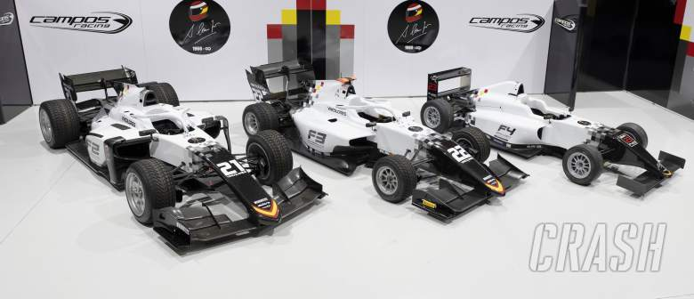 Campos Racing reveals retro livery in tribute of founder Adrian Campos