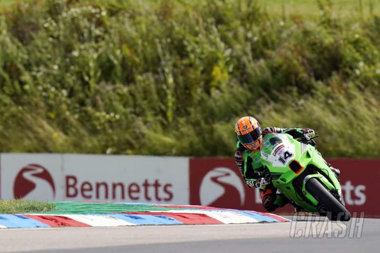 Jackson sets the pace at Thruxton, Iddon and O'Halloran complete top three