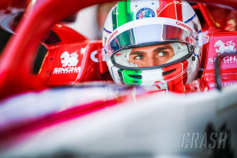 Giovinazzi on overcoming mistakes, learning from Kimi and his Ferrari F1 dream