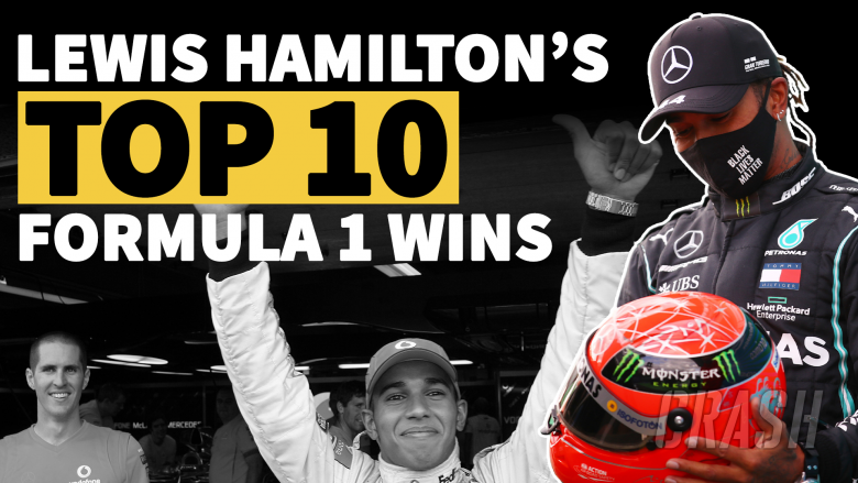 Lewati Rekor Schumacher, Berikut 10 Kemenangan Terbaik Lewis Hamilton