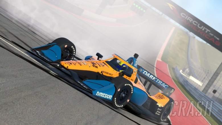Norris menang setelah putaran debut IndyCar Esports