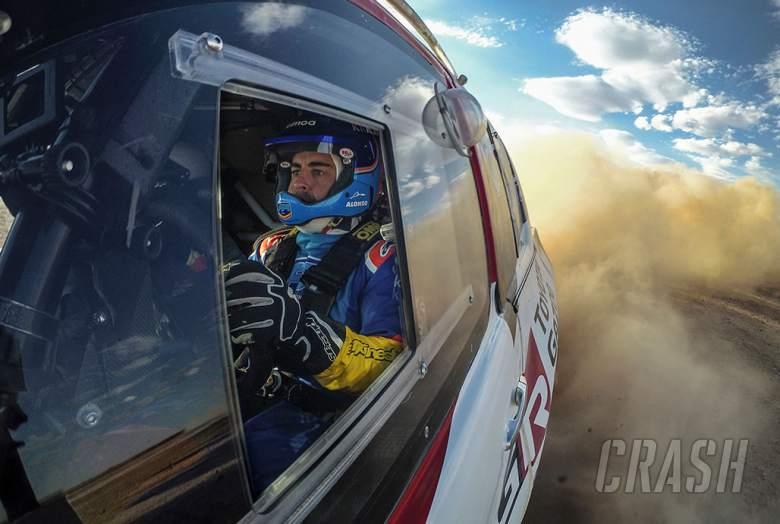 Alonso bersiap untuk lebih banyak acara reli Toyota dengan memperhatikan Dakar