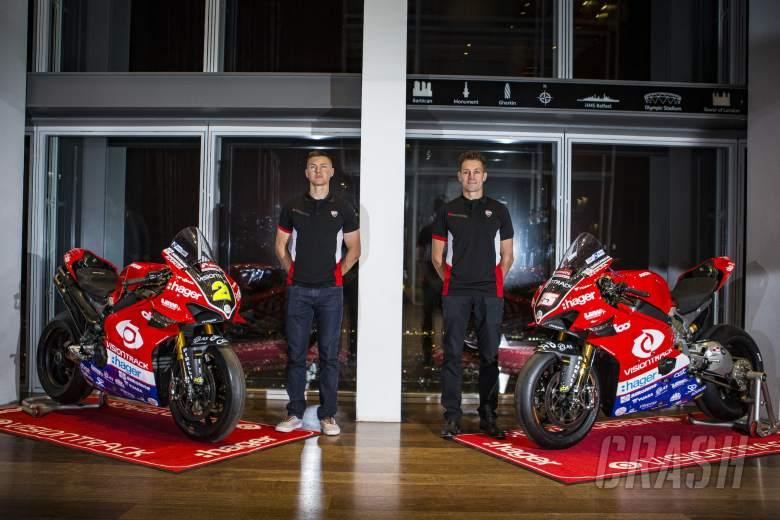VisionTrack Ducati, Josh Brookes, Christian Iddon,