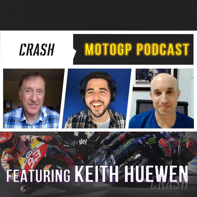 Crash.net MotoGP podcast with Keith Huewen: Bagnaia beats Marquez for debut win