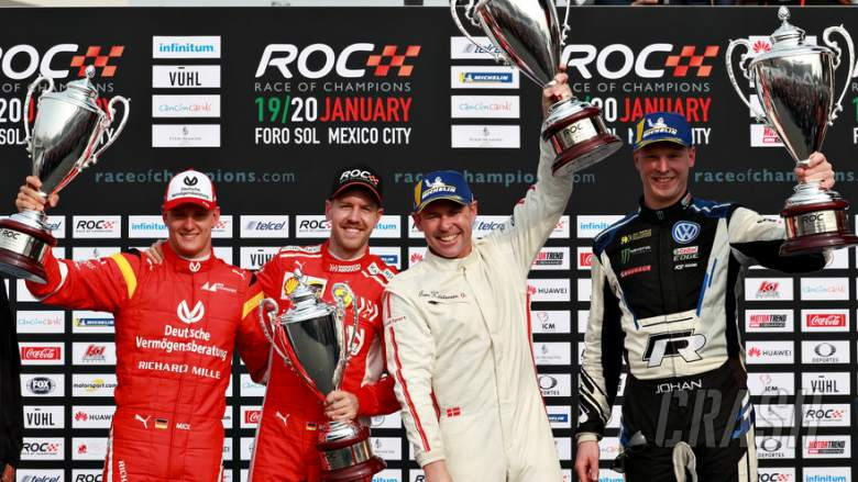 Sebastian Vettel, Mick Schumacher, Race Of Champions,