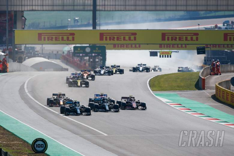 12 F1 drivers issued formal warning over restart crash