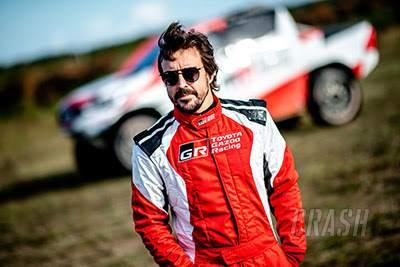 Fernando Alonso, Dakar Rally, Toyota,
