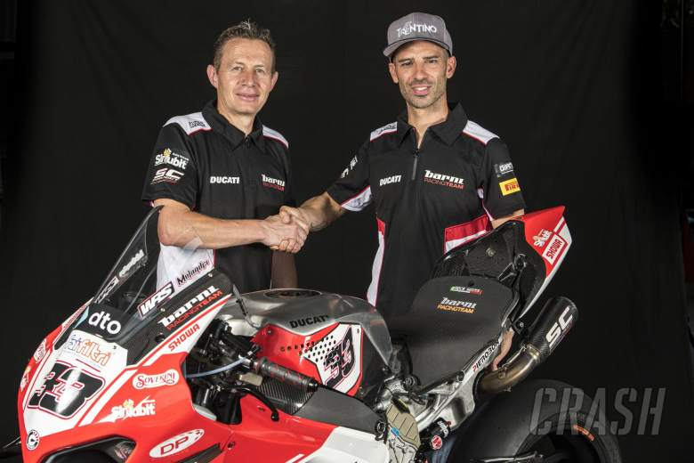 Marco Melandri - Ducati WorldSBK