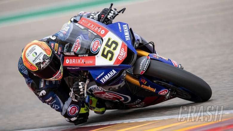 Locatelli fifth for Pata Yamaha in Aragon, suffers 'crazy strange crashes'
