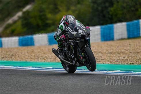 Alex Lowes Selesaikan Program Tes Kawasaki di Jerez