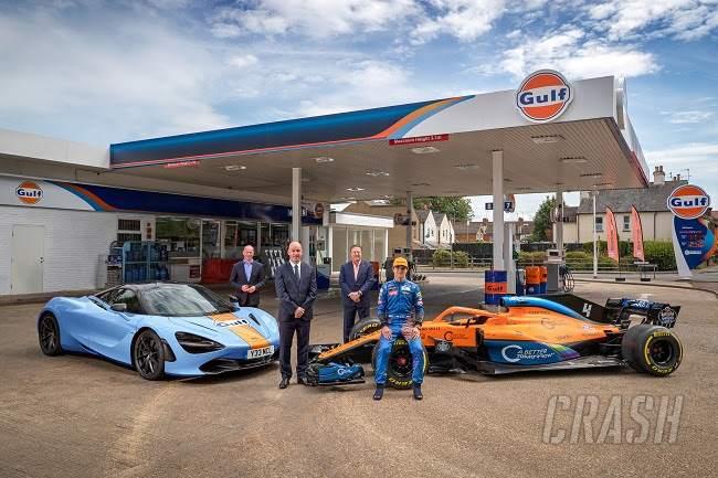 McLaren announces 'multi-year' F1 reunion with Gulf Oil