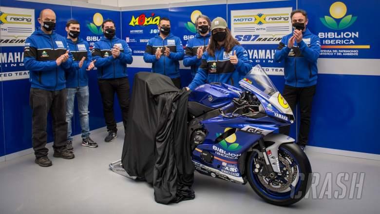 Biblion Motoxracing Yamaha confirms Maria Herrera for WorldSSP season
