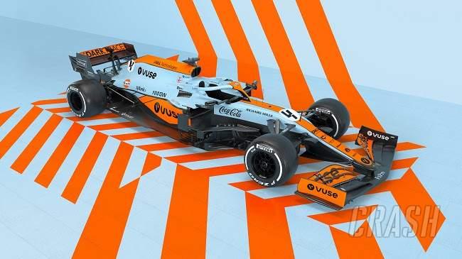McLaren Siapkan Livery Gulf Khusus untuk F1 GP Monaco
