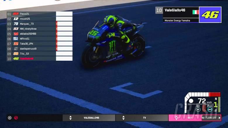 Valentino Rossi, MotoGP Virtual Race,