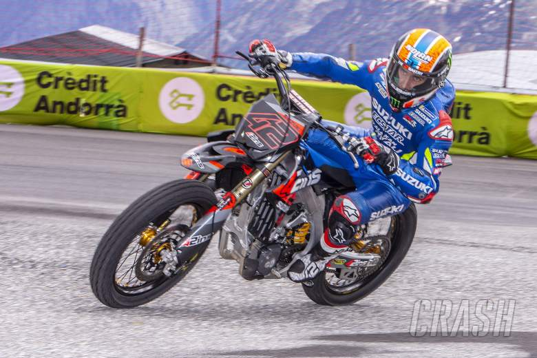 Pembalap MotoGP Andorra kembali ke jalurnya