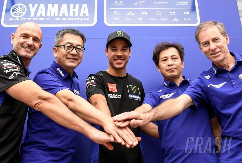 Franco Morbidelli moves to Factory Yamaha team until 2023