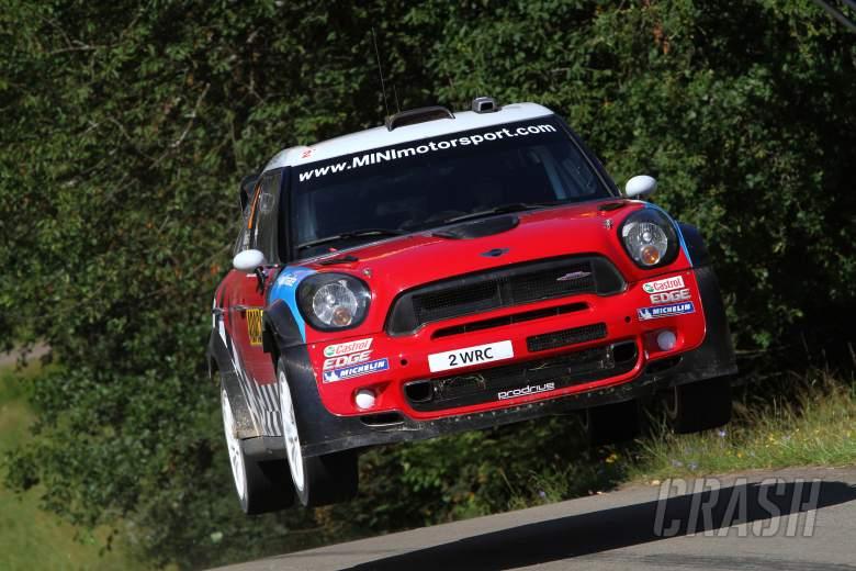 Kris Meeke (GB) Paul Nagle (IRL), Mini John Cooper Works, MINI WRC TEAM