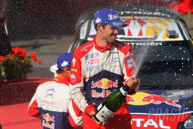 Podium, Sebastien Ogier (F) Citroen DS3 WRC, Citroen Total World Rally Team