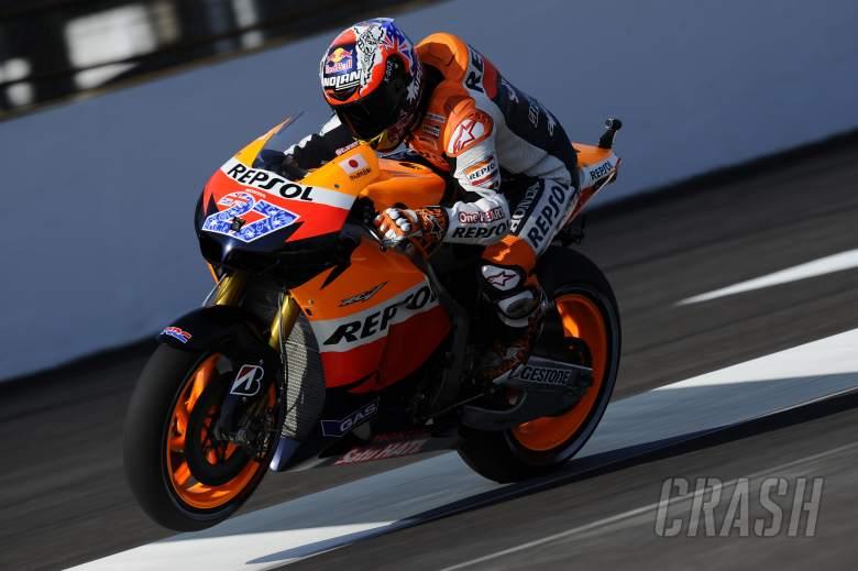 Stoner, Indianapolis MotoGP 2011