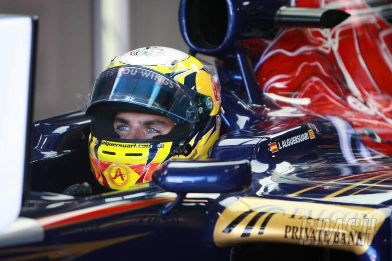 09.09.2011- Friday Practice 1, Jaime Alguersuari (SPA), Scuderia Toro Rosso, STR6