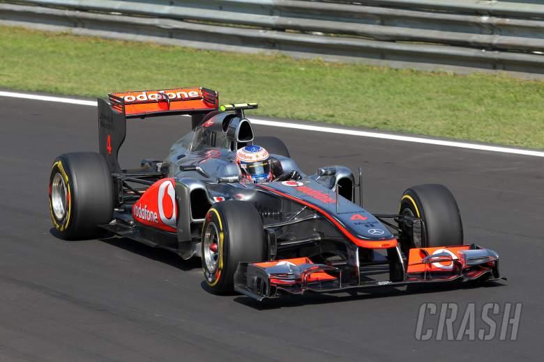 09.09.2011- Friday Practice 2, Jenson Button (GBR), McLaren Mercedes, MP4-26