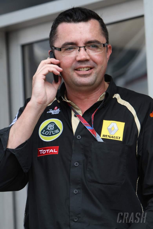 10.09.2011- Qualifying, Eric Boullier (FRA), Team Manager, Renault F1 Team