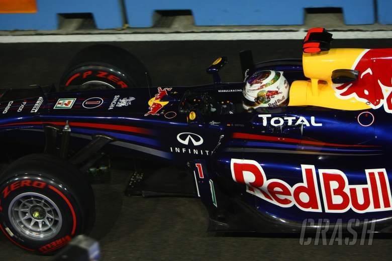 24.09.2011- Qualifying, Sebastian Vettel (GER), Red Bull Racing, RB7