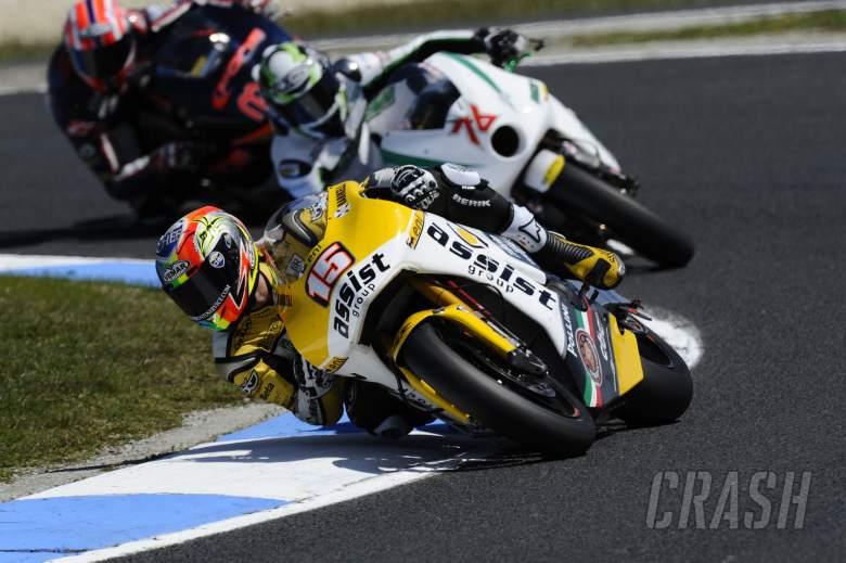 De Angelis, Australian Moto2 2011
