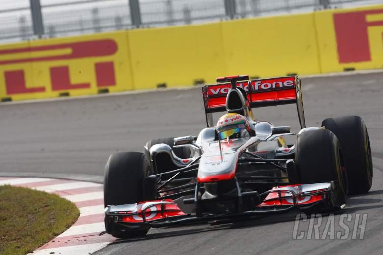 15.10.2011- Qualifying, Lewis Hamilton (GBR), McLaren  Mercedes, MP4-26