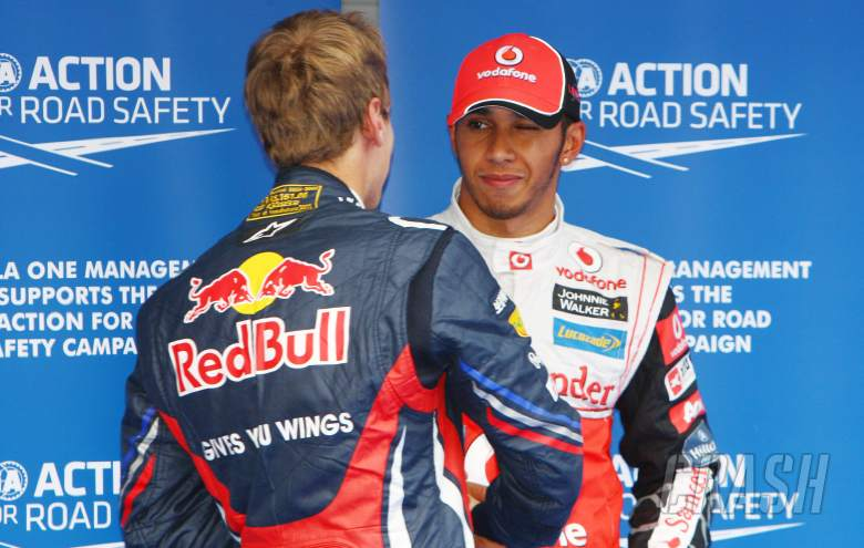 15.10.2011- Qualifying, Lewis Hamilton (GBR), McLaren  Mercedes, MP4-26 pole position and Sebastian