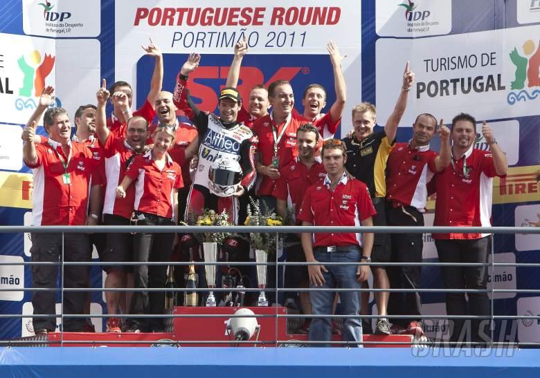 Checa, Team Althea Ducati, Portuguese WSBK Race 1 2011