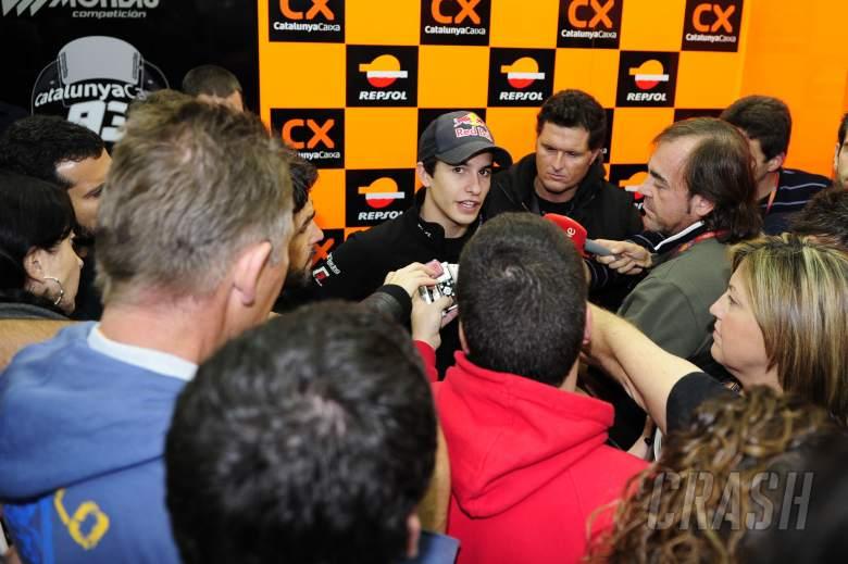 Marquez, Valencia Moto2 2011
