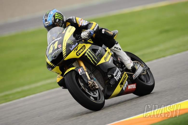 Hayes, Valencia MotoGP 2011