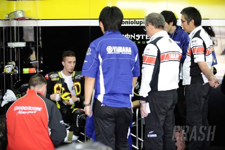 Dovizioso, Valencia MotoGP Test, November 2011