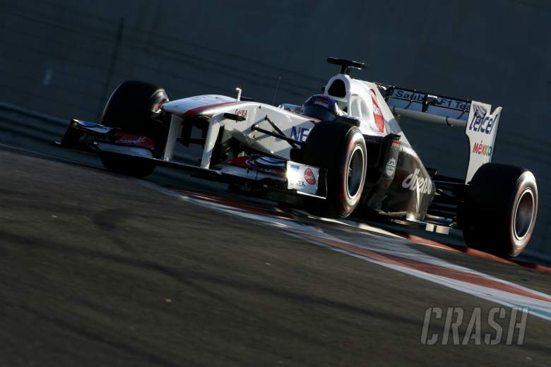 15.11.2011 Abu Dhabi, UEA,Fabio Leimer (CH), Sauber F1 Team F1 Team - Formula 1 Testing Rookie Tes