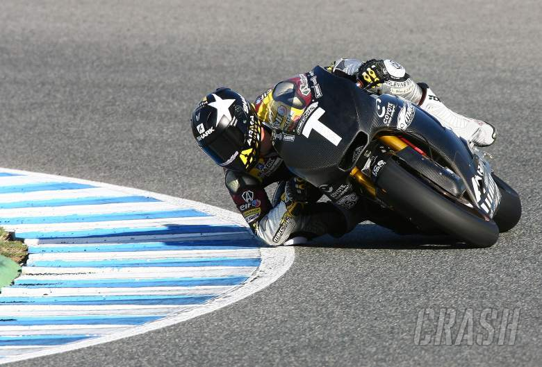 Redding, Jerez tests, November 2011