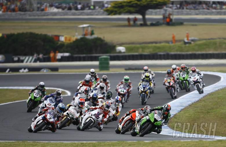 Sykes leads start, Race1, Australian WSBK 2012