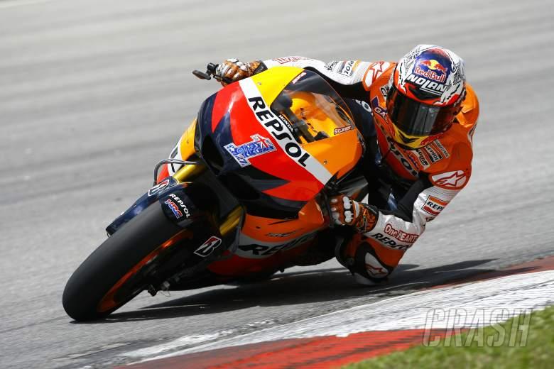 Stoner, Sepang MotoGP test, 28th Feb-1st March 2012