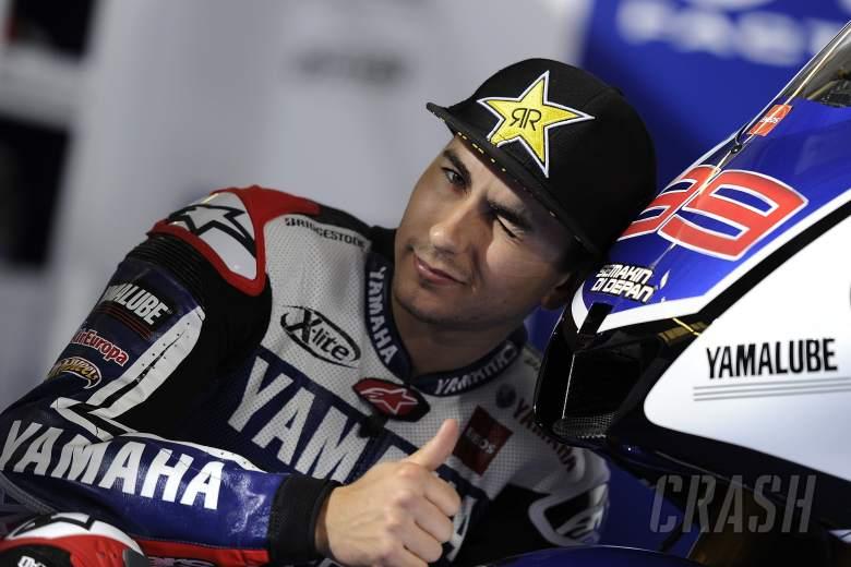 Lorenzo, Jerez MotoGP test, March 2012, image courtesy of Yamaha