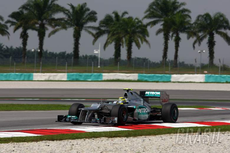 23.03.2012- Free Practice 1, Nico Rosberg (GER) Mercedes AMG F1 W03