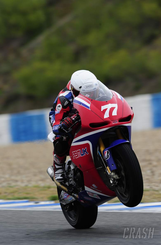 Ellison, Jerez MotoGP Test March 2012